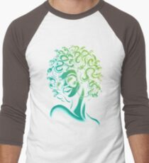 Funky Medusa Men's Baseball ¾ T-Shirt