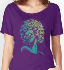 Funky Medusa Women's Relaxed Fit T-Shirt