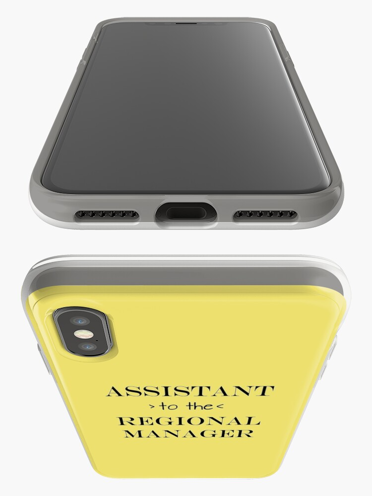 Alternate view of Assistant (to the) Regional Manager iPhone Case & Cover