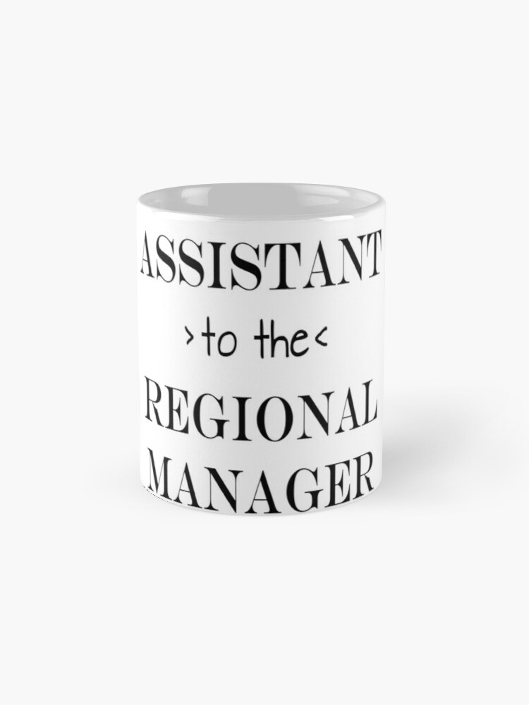 Alternate view of Assistant (to the) Regional Manager Mug