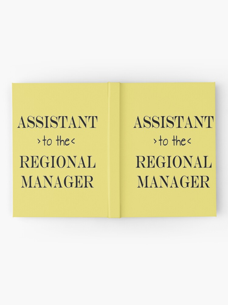 Alternate view of Assistant (to the) Regional Manager Hardcover Journal
