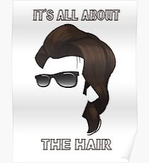 It's All About The Hair  Poster