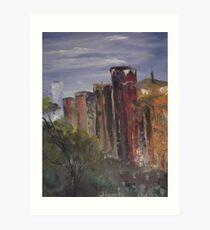 A Cityscape Art Print