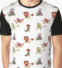 Fwaggle rock Graphic T-Shirt