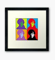 Pop Sherlock Holmes Framed Print