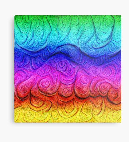 Color Foam levels #DeepDream Metal Print