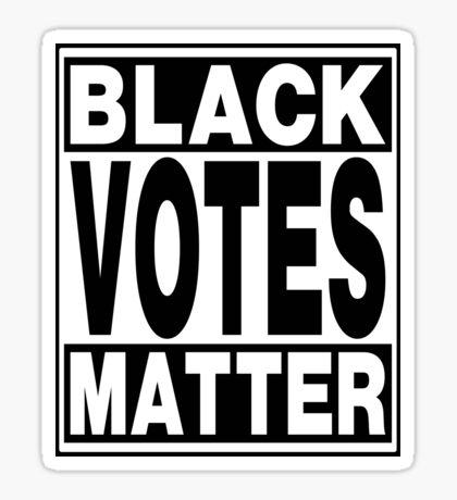 Black Votes Matter Sticker