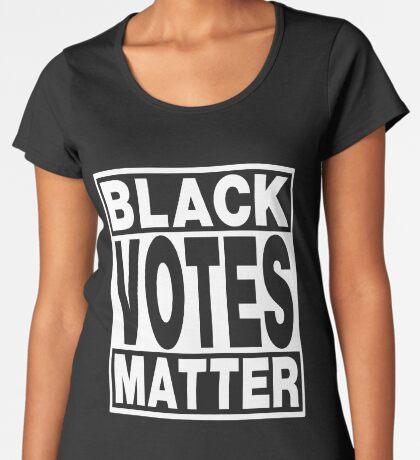 Black Votes Matter Women's Premium T-Shirt