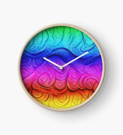 Color Foam levels #DeepDream Clock