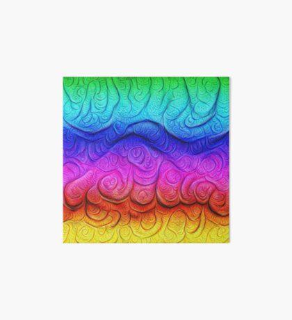 Color Foam levels #DeepDream Art Board Print