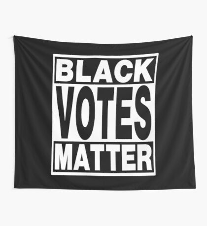 Black Votes Matter Wall Tapestry