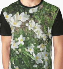 Beautiful Spring Flowers Graphic T-Shirt