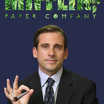 michael scott weed  by astralfeather