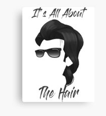 It's All About The Hair! Canvas Print