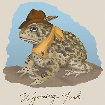The Wyoming Toad by Fullfrogmoon