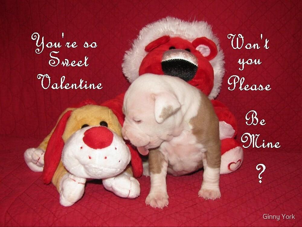 Be Mine Sweet Valentine by Ginny York