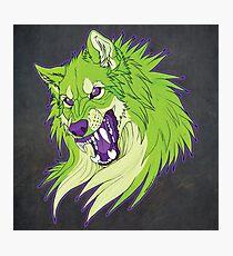 Ravewolf - Lime and Grape Photographic Print