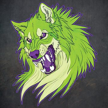 Ravewolf - Lime and Grape by DarkIceWolf