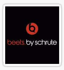 Beets by Schrute Sticker