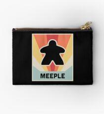 Vintage MEEPLE Boardgame Design Studio Pouch
