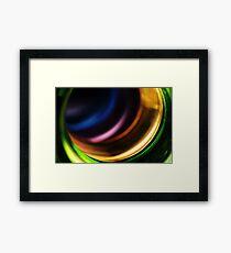 Abstract Macro #101 Framed Print