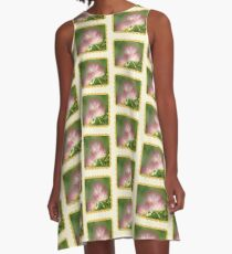 Mimosa ~  An Exotic Flowering Tree A-Line Dress
