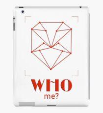 Who me? iPad Case/Skin