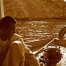 Egyptian ferryman by Chris Steele