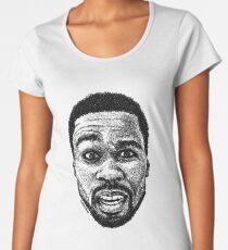 Scribbled 50 Frauen Premium T-Shirts