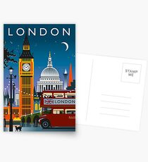 London Night Postcards