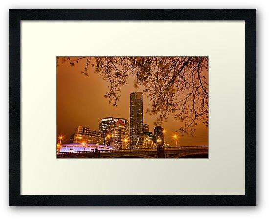 Dusk In Melbourne by Ewan Arnolda
