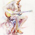 «Músico ambulante» de ElliotSloss