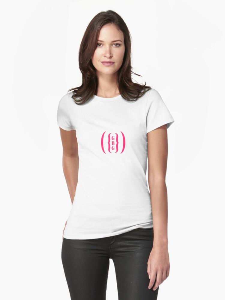 Gbg Gang Bang Girls Pink Womens T Shirt
