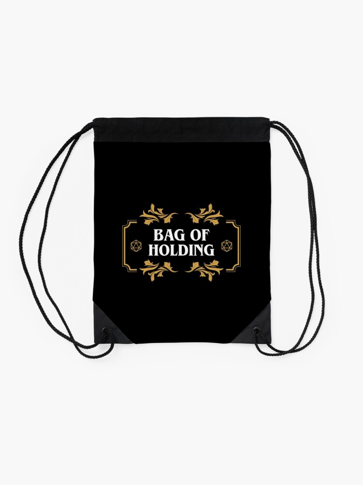 Alternate view of Bag of Holding Dice Container D20 Game Master Tabletop RPG Addict Drawstring Bag