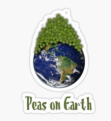 Peas on Earth .... Sticker