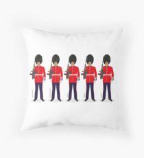 Royal Guards Throw Pillow