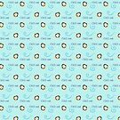Chill Out - A Penguin Pattern by JillPillDesign