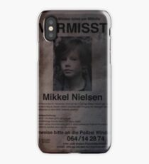 Dark - Vermisst Mikkel Nieslen iPhone Case/Skin