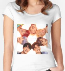 OT7 Love Yourself | Love Myself Women's Fitted Scoop T-Shirt