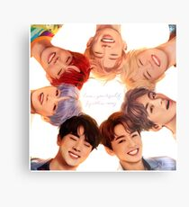 OT7 Love Yourself | Love Myself Metal Print