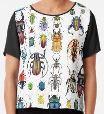 Käfer-Sammlung Chiffontop