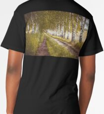 Autumn birches alley Men's Premium T-Shirt
