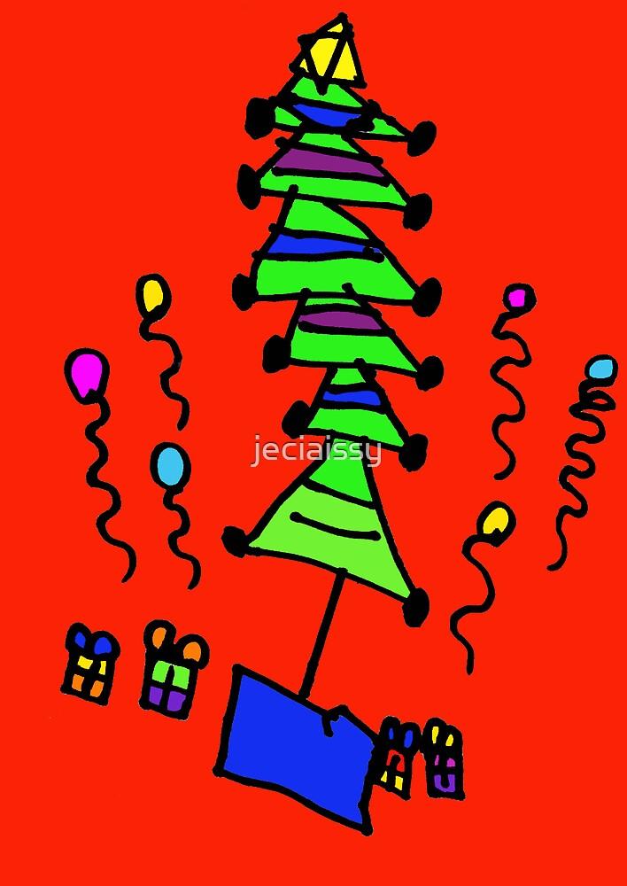 Christmas Tree (Issy age 5) by jeciaissy