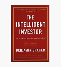 The intelligent investor Photographic Print
