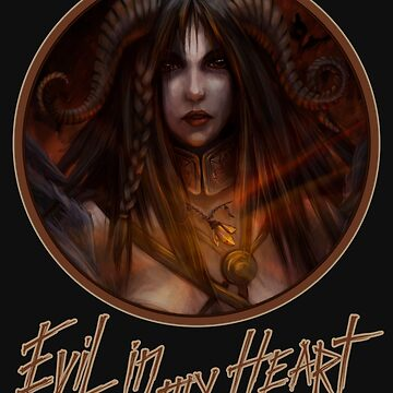 Evil in my heart by kate-vigdis