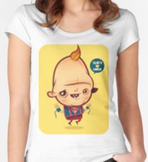 SLOTH-GOONIES Women's Fitted Scoop T-Shirt