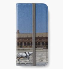 Horse and Carriage, Seville iPhone Wallet/Case/Skin