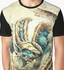 Monster Hunter - Zinogre, Roaring Thunder Graphic T-Shirt