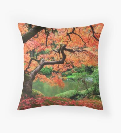 Eden I Throw Pillow
