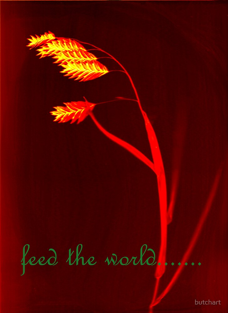 feed the world by butchart